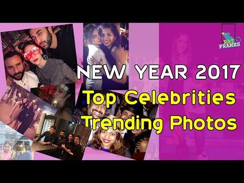 New year 2017 Top Celebrities  Trending photos...