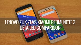 Lenovo ZUK Z1 vs Xiaomi Redmi Note 3- Detailed Comparison