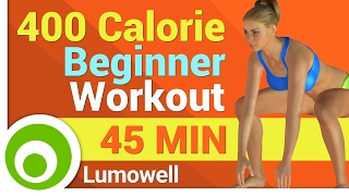 400 Calorie Workout for Beginners