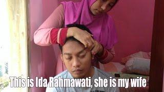 My first head massage & Shoulder by Ida Rahmawati - great technique