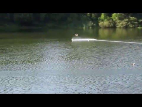 RC Boat. F1E Alexey Koval Volkov. Russian championship 2013. 12.3 sek
