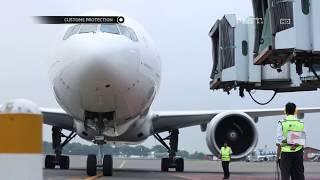 Penumpang Pesawat WNA Membawa Barang High Value dalam Jumlah Banyak - Customs Protection