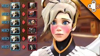 WHAT HAPPENS WHEN MERCY SNAPS! Overwatch Funny & Epic Moments 642