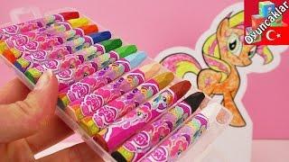 RESIM BOYUYORUZ / My Little Pony Karton Atını Renklendiriyoruz- Sunset Shimmer Karakteri!
