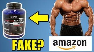 Amazon Sell Fake Whey Protein or Original?