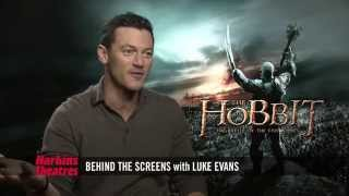 Martin Freeman discusses The Hobbit: Battle of the Five Armies with Harkins Theatres