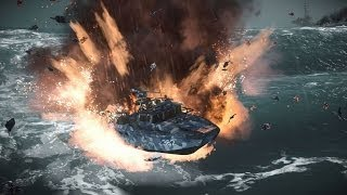Only in Battlefield 4: Fire in the Waves