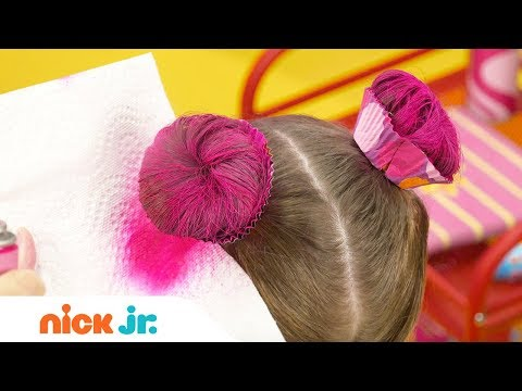 Xxx Mp4 How To Create A Cupcake Updo 🍰 Style Files Hair Tutorial Sunny Day Nick Jr 3gp Sex