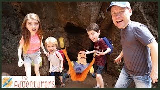 Hello Neighbor - We Found His Secret Cave AND Tunnels! / That YouTub3 Family   The Adventurers