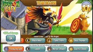 Dragon City - Sentence Dragon + Fighting [Training & Combats Dragon]