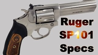 Ruger SP101 5771 Unboxing & Specifications