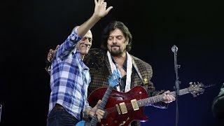 Avi singolda jams in Alan Parsons's show