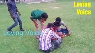 Hot Girl Kicking boy prank || Loving Voice || pranks in Bangla