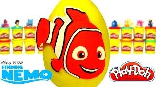 Ovo Surpresa Gigante de Procurando Nemo em Português Brasil de Massinha Play Doh