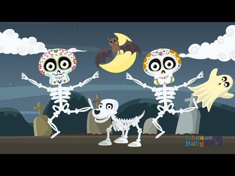 Xxx Mp4 💀 Las Calaveras 💀 Salen De Su Tumba CHUMBALA CACHUMBALA Canciones Infantiles De Halloween 3gp Sex