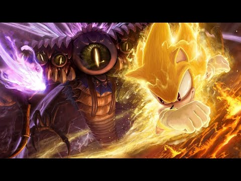 Sonic Unleashed Super Sonic vs Perfect Dark Gaia 2 2
