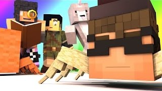 Sky Does Minecraft | Minecraft Mini-Game - DO NOT LAUGH! (APHMAU'S MIDNIGHT STORY!) -w Facecam