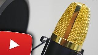 Mikrofon Für YouTube Anfänger! Günstiges Aukey Kondensatormikrofon-Set Im Test