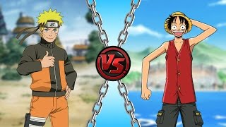 Naruto vs Luffy