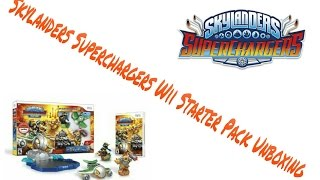 Skylanders SuperChargers Wii Starter Pack Unboxing & Review