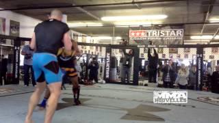 GSP UFC 167 training october 28th