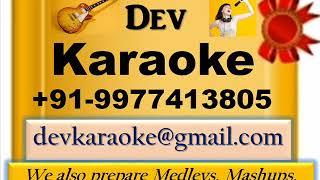 Mere Meet Bata Tujhe Mujhse   Putlibai {1972} Asha Bhosle,k Full Karaoke by Dev