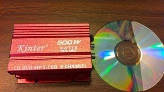 500 Watts in Your Pocket? Kinter MA-150 Mini Amp