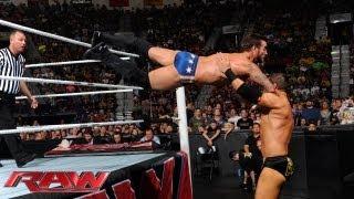 CM Punk vs. Curtis Axel: Raw, August 5, 2013