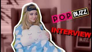 Sabrina Carpenter interviewed by PopBuzz 03/01/2018