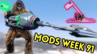 Fallout 4 Top Mods Week #91 - GUNS, QUEST MOD, EXPLOSIVE CHICKENS (PC & XBOX)