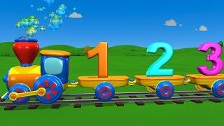 TuTiTu Preschool | Numbers Train Song