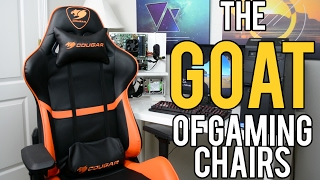 """Cougar ARMOR Review! - The """"GOAT"""" of Gaming Chairs (2017)"""