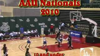 Jasmine Jones 2010 AAU Nationals Highlights