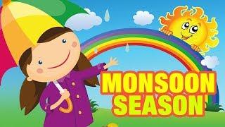 Monsoon Season For Kids | 3D Animated Videos for Children | Simba TV