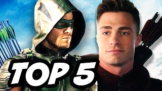 Arrow Season 4 Episode 12 - TOP 5 WTF and Easter Eggs