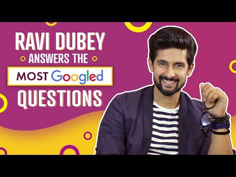 Xxx Mp4 Ravi Dubey Answers The Most Googled Questions Pinkvilla Bollywood 3gp Sex