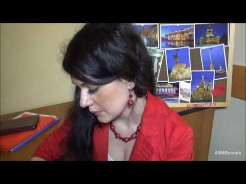 ASMR/АСМР (HD. Russian): Турагентство. Экскурсия. г. Санкт-Петербург (Tourist agency. Petersburg)