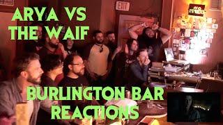 GAME OF THRONES S6E08 Reactions at Burlington Bar /// ARYA vs THE WAIF \\\