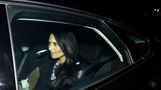Priti Patel leaves Downing Street after resignation