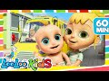 Download Video The Wheels On The Bus - Cool Songs for Children | LooLoo Kids 3GP MP4 FLV