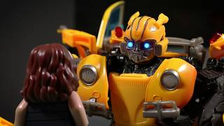BUMBLEBEE in LEGO TRAILER - TRANSFORMERS Stop Motion Animation