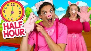 This Little Piggy and More | Kids Nursery Rhymes collection | Animals Sounds, Old MacDonald