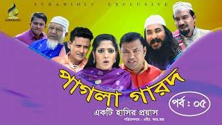 Pagla Garod (পাগলা গারদ ) - Epi 05 | Siddik | Humayra Himu | Shahin | Luton Taj | Bangla Eid Natok
