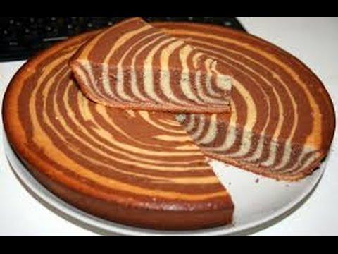 Пирог зебра мультиварке рецепты с фото