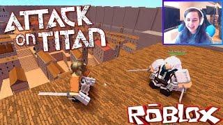 ROBLOX LET'S PLAY ATTACK ON TITAN | RADIOJH GAMES & MICROGUARDIAN