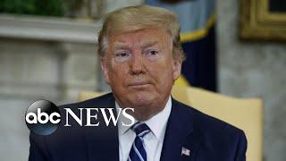 President Trump reverses on Iran strike