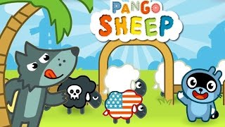 Pango Sheep Cartoon - Kids Play & Search, Find The Wolf Sheeps! - Fun Animated Game For Kids