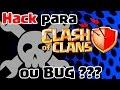 Hack ou bug para clash of clans o que aconteceu what happened