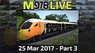Class 800, MoleMainline Style! | Train Simulator 2017 | M978 Live