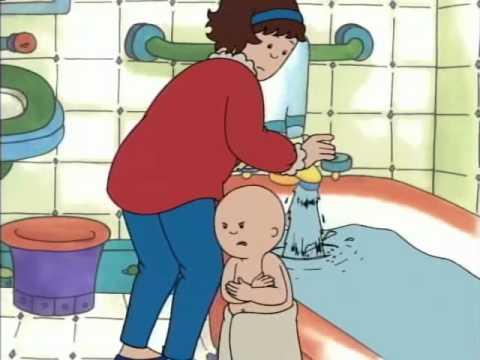 caillou prend son bain.avi